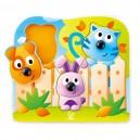 Zvířátka - úchopové puzzle