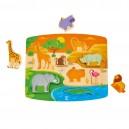 Divoká zvířátka - puzzle a hra