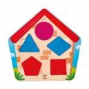 Puzzle Kdo je v domě