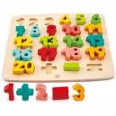 Vkládací puzzle Matematika