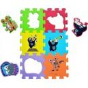 Pěnové puzzle - Krtek a přátelé