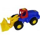 Plastový traktor s lopatou