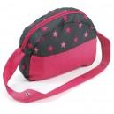 Přebalovací taška ke kočárku - Pink Stars