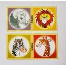Maxi domino Exotická zvířata