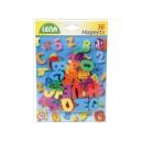Magnetická abeceda - 36 ks
