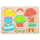 Oblékací puzzle kluk