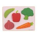 Vkládací puzzle zelenina