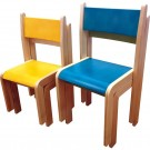 Stohovatelná židle MAKRA 30cm