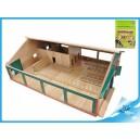 Kravín s dojírnou dřevěný 75x60x26,5cm 1:32 v krabičce