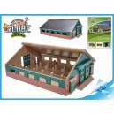 Farma dřevěná 21x30x11cm 1:87 v krabičce