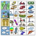 Naučné karty - Dopravní prostředky