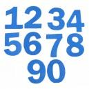 Pěnové číslice 0 - 9