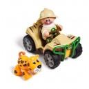 První přátelé - Safari čtyřkolka + tygřík