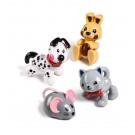 První přátelé - Kotě, štěně, králík,myš