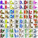 Pexeso - Kreslená abeceda