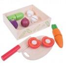 Krájecí zelenina v krabičce