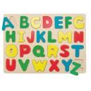 """Puzzle na desce """"Abeceda"""" - poslední kus"""