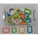 Neon Magnetic 80 dílků