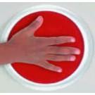 Kruhový polštářek - různé barvy