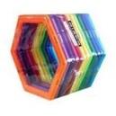 Magnetická stavebnice - šestiúhelník