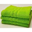 Froté ručník pistáciový s poutkem