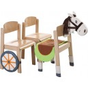 Koňský povoz - doplněk k židlím