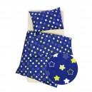Povlečení Hvězdy modré - bavlna