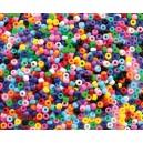 Korálky 1000ks základní barvy