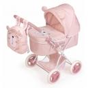 Skládací kočárek pro panenky s batůžkem Little Pet 2020 - 60 cm