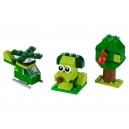Zelené kreativní kostičky