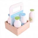 Dřevěné mléko v přenosné krabičce