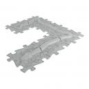 Ortopedická podlaha - HAD stříbrná