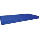 Matrace molitanová modrá, 60x120x7 cm