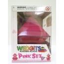 Pyramida wedgits - Junior pink set