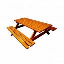Dřevěná sedací souprava