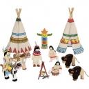 Panenky do domečku – indiáni, 14 dílů