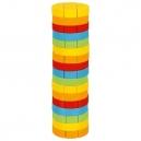Dovednostní balanční věž Jenga – kulatá, 51 dílů