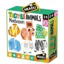 Montessori - Dotykové puzzle - Zvířátka