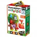 Montessori Moje první puzzle - Les