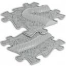 Ortopedická podlaha - Had rozšíření stříbrná