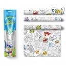 Malovací ubrusy 3ks -  Mořská zvířátka