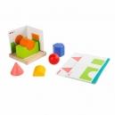 Jednoduchá geometrie – dřevěná hra