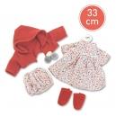 Llorens Obleček pro panenku velikosti 33cm
