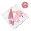 Obleček pro panenku miminko 35-36cm