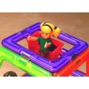 Magnetická stavebnice - figurka holčička