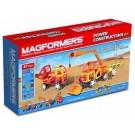 63090 Magformers Power Construction - Stavební auta Plus 47 dílků
