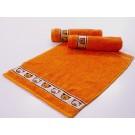 Dětský ručník oranžový