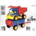Auto Gigant truck + dětská vlečka