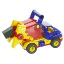 Auto popelář s gumovými kolečky