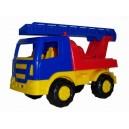 Dětské auto Salute požární 22cm
